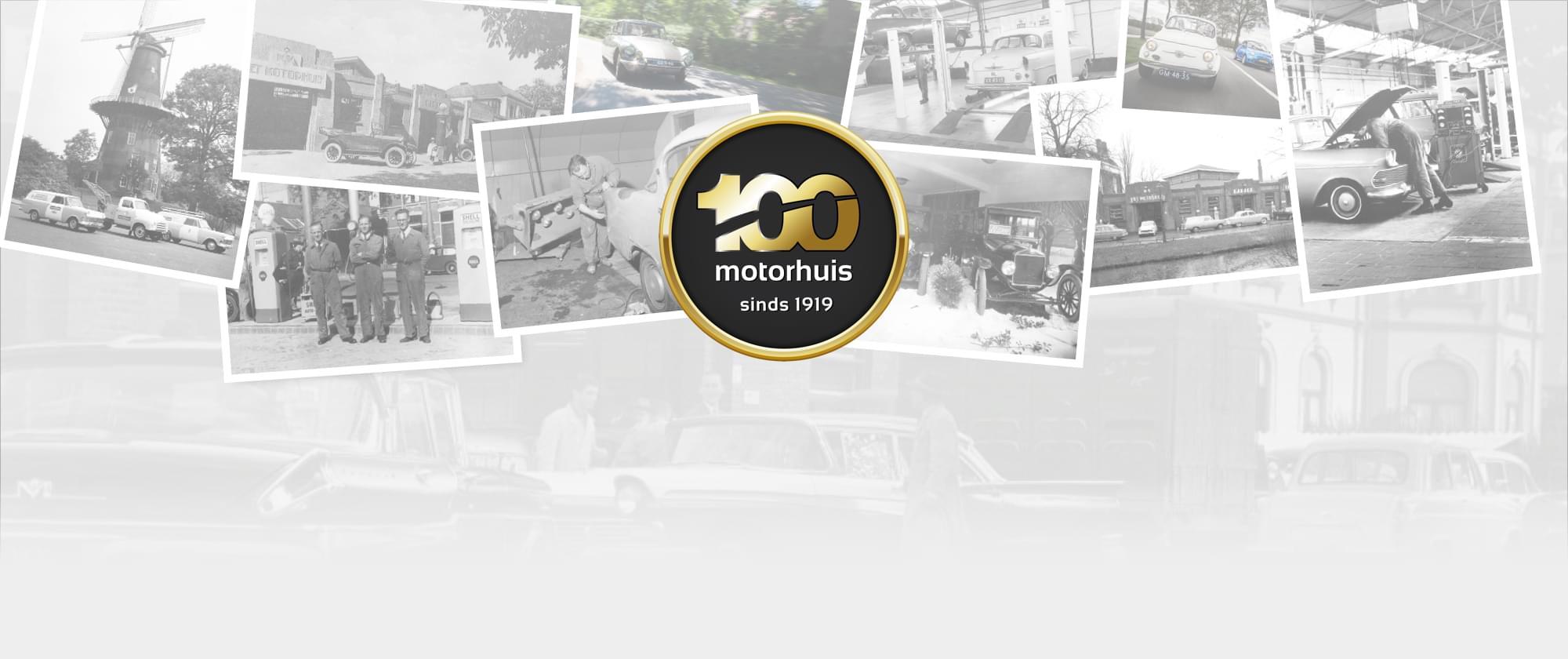 Motorhuis 100 jaar