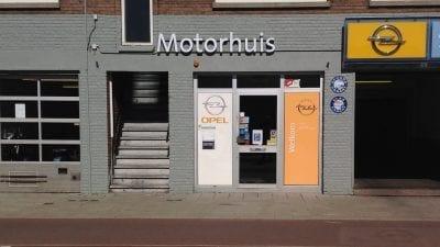 Motorhuis Scheveningen