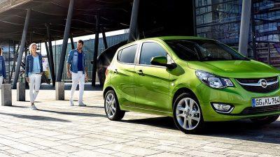 Bekijk Opel Karl min. € 1.500,- korting