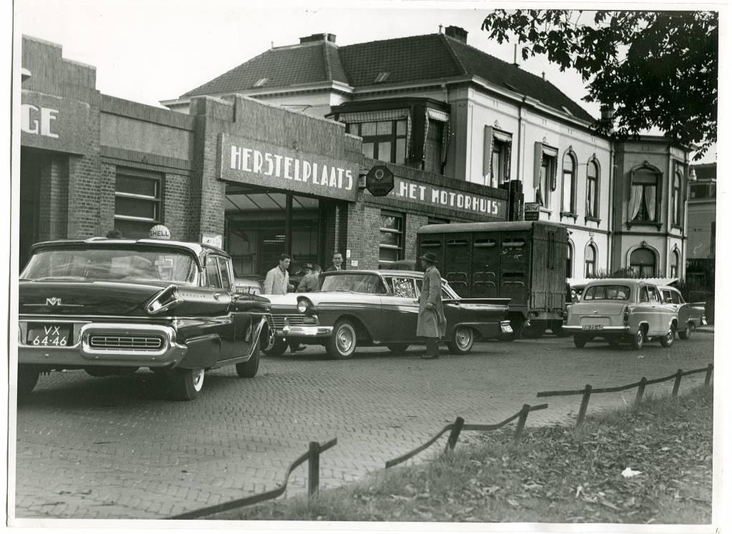 Geschiedenis van Motorhuis