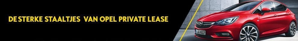 Opel Private Lease