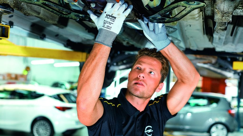 Opel Servicepas