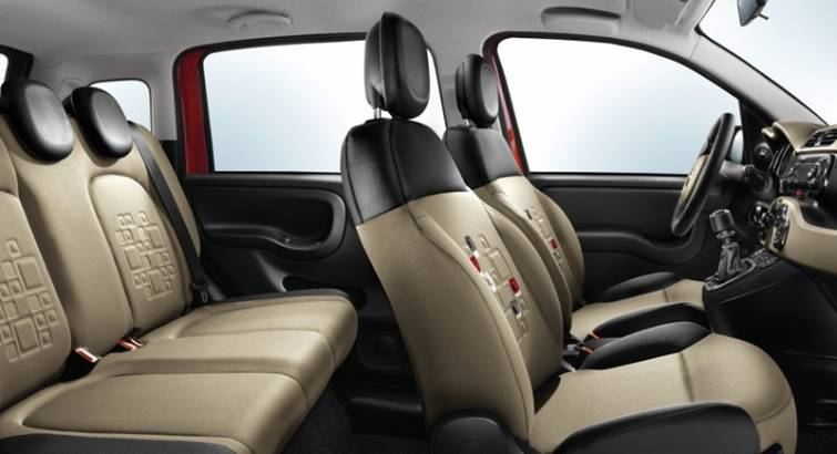 Fiat Panda interieur