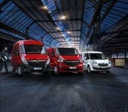 Gratis inrichting of ombouw t.w.v. €1.500,- op uw Opel Bedrijfswagen