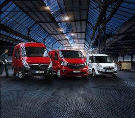 Gratis inrichting of ombouw t.w.v. € 1.500,- op uw Opel Bedrijfswagen