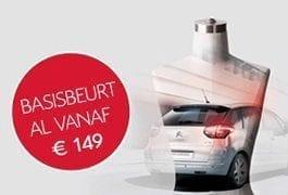 Citroën onderhoudspakket