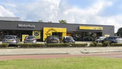 Motorhuis Hoofddorp (Opel)
