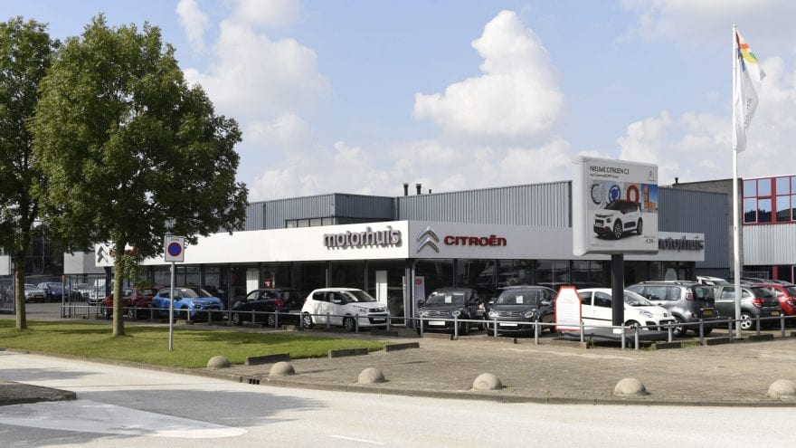Citroën Dealer Motorhuis In Hoofddorp Motorhuis