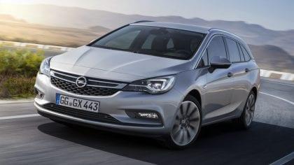 Opel Astra Sports Tourer min. € 3.500,- korting