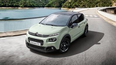 Motorhuis actie: Citroën C3