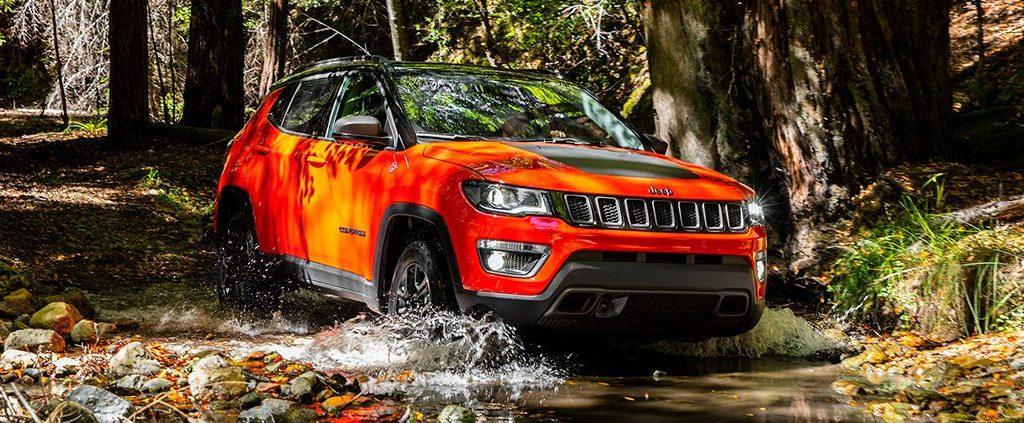 Jeep Compass geeft u richting