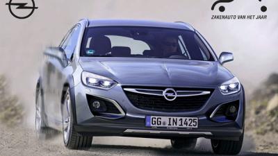 Bekijk Opel Astra zakenauto van het jaar 2018