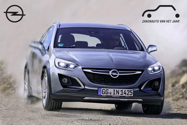 Opel Astra zakenauto van het jaar 2018