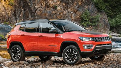 Bekijk Jeep Compass geeft u richting