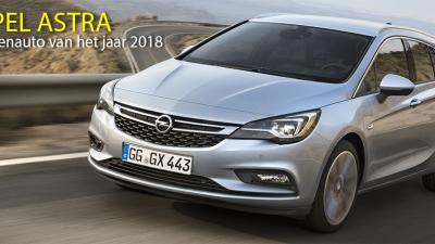 Bekijk Opel Astra verkozen tot zakenauto van het jaar 2018
