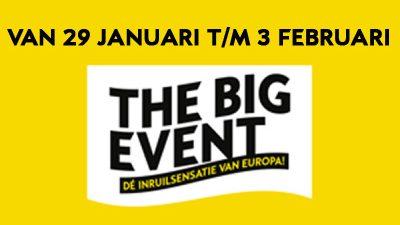 Bekijk Veel voordeel tijdens The Big Event!