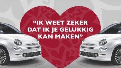 Bekijk Fiat 500 met € 6.000,- Valentijnsvoordeel
