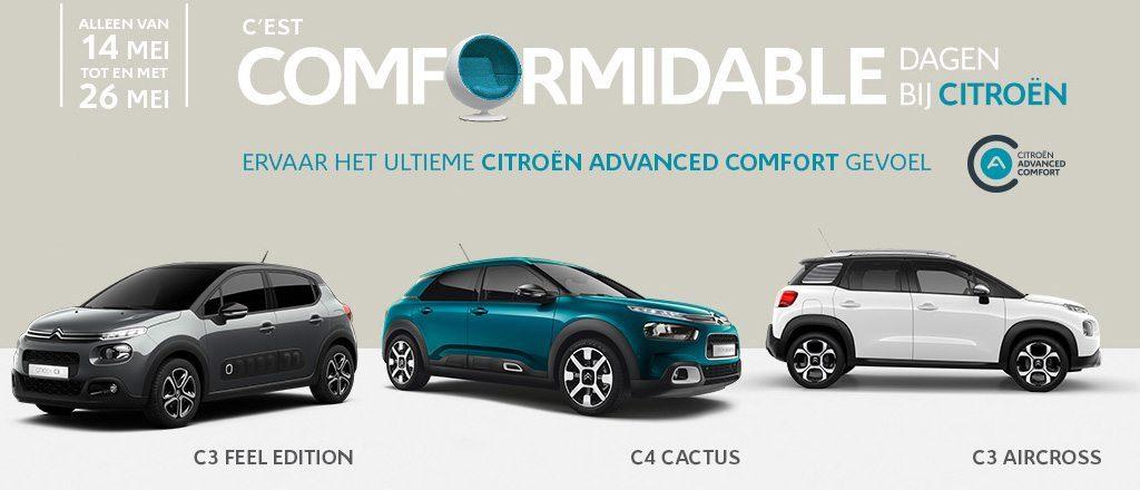 C'est Comformidable dagen bij Citroën