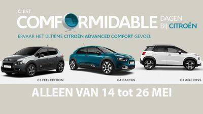 Bekijk C'est Comformidable dagen bij Citroën
