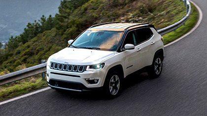 Jeep Compass nu met € 2.000,- korting