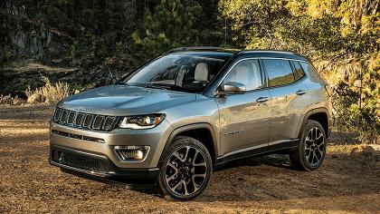 Jeep Compass nu met €6.900,- korting