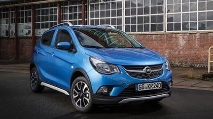 Opel Karl ROCKS min. € 1.250,- korting