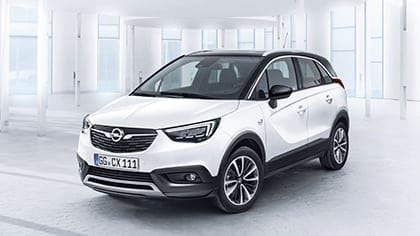 Opel Crossland X min. € 3.665,- korting