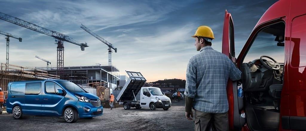 Opel Bedrijfswagen Besteldagen