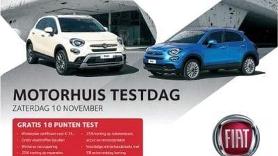 Bekijk Motorhuis Fiat Testdag 10 november