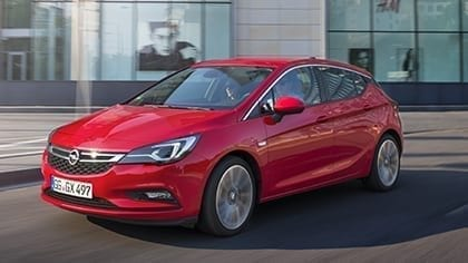 Opel Astra tot. € 6.500,- korting