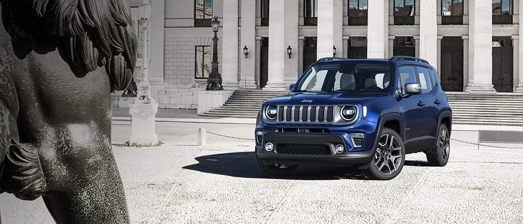 Nieuwe Jeep Renegade