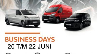 Bekijk Citroën Business Days van 20 t/m 22 juni