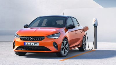 Nieuwe Opel Corsa-e