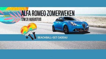 Kom naar de Alfa Romeo Zomerweken