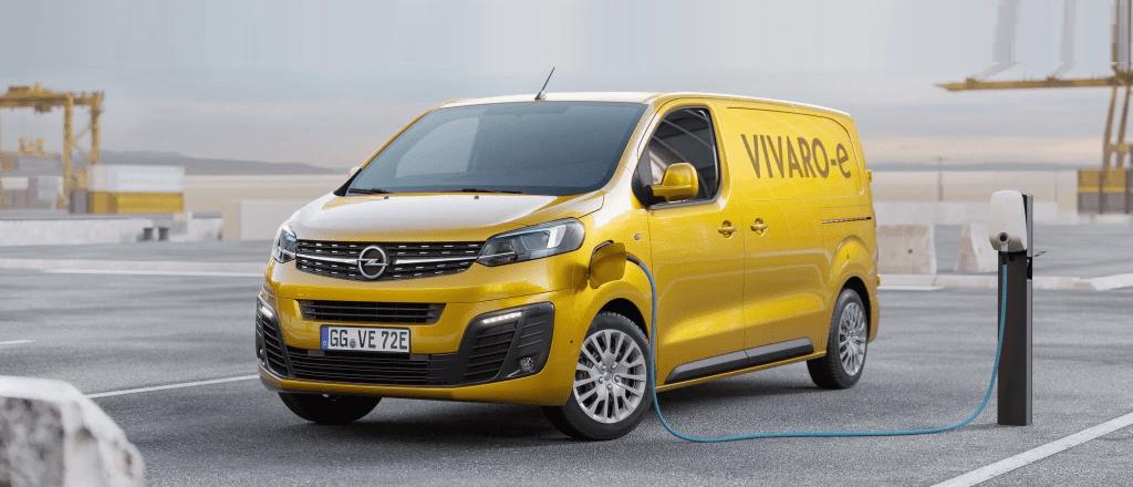 Opel Vivaro-e vanaf 2020