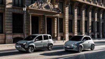 Bekijk Extra zuinige Fiat 500 en panda Hybrid in aantocht