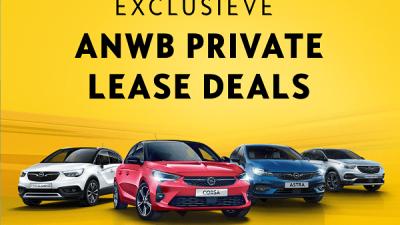 Bekijk ANWB PRIVATE LEASE DEALS
