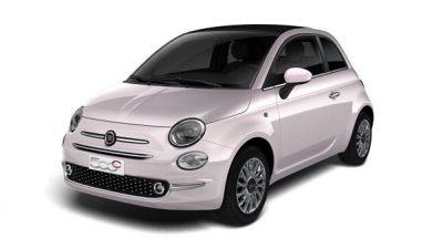 Bekijk Fiat 500C Star Hybride private lease actie