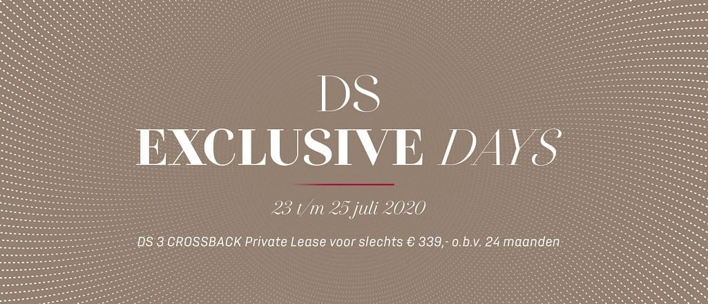 DS Exclusive Days