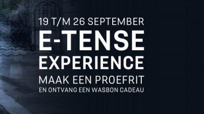 Bekijk E-TENSE Experience