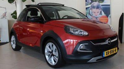 Bekijk Opel Adam Rocks Blitz 1.0 Turbo S&S 90pk nu met € 4.500,- korting