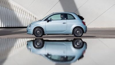 Bekijk Private lease de nieuwe Fiat 500 Hybrid nu al vanaf €209,- p/m
