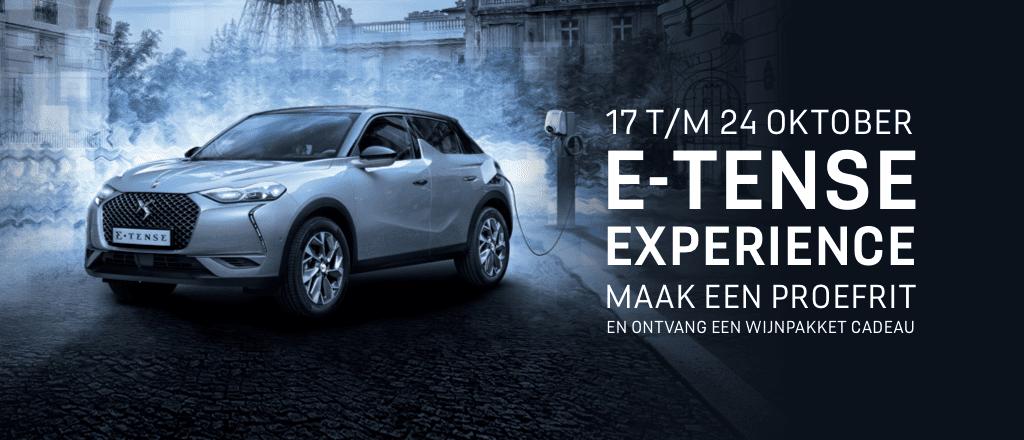 E-TENSE Experience