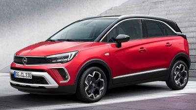 Opel Crossland (nieuw)