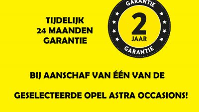 Bekijk Nu 24 maanden garantie op een Opel Astra Occasion