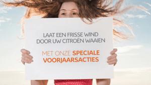 Laat een frisse wind door uw Citroën waaien
