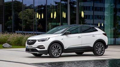 Bekijk Opel Grandland X demo Business Edition Hybrid met € 7.502,- fiscaal voordeel/korting