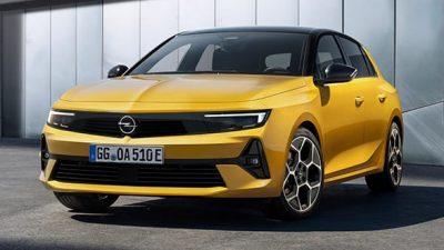 Opel Astra Hybrid (nieuw)